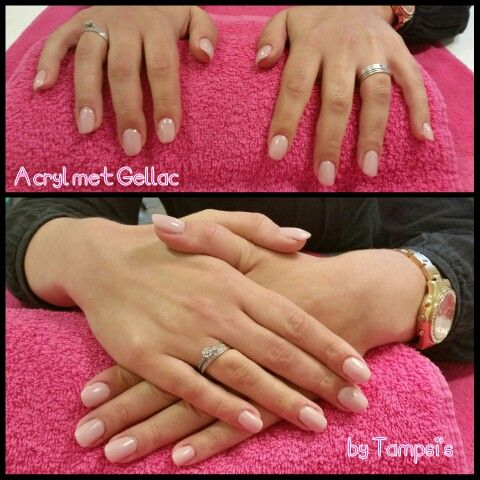 Acryl with gellac by Tampsi's