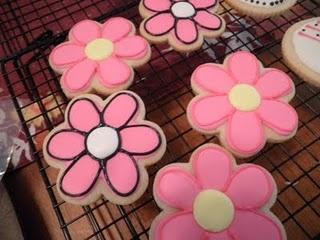 flower cookie decoration