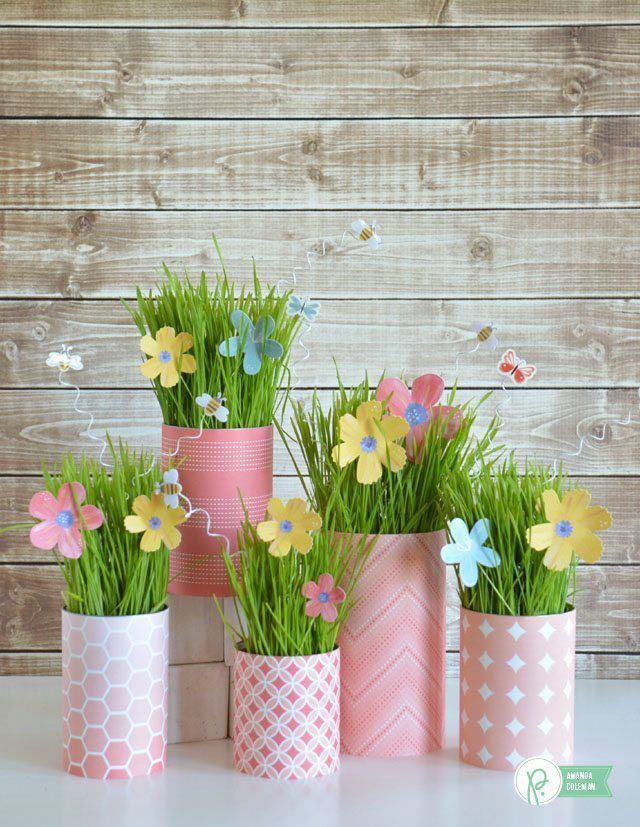Simple DIY Easter Party Decorations on Love the Day #diypartydecorationssimple