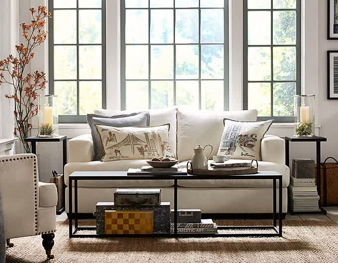 small spaces small space ideas pottery barn style decorating pottery