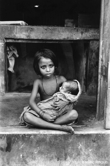 India, 1956 by Marc Riboud