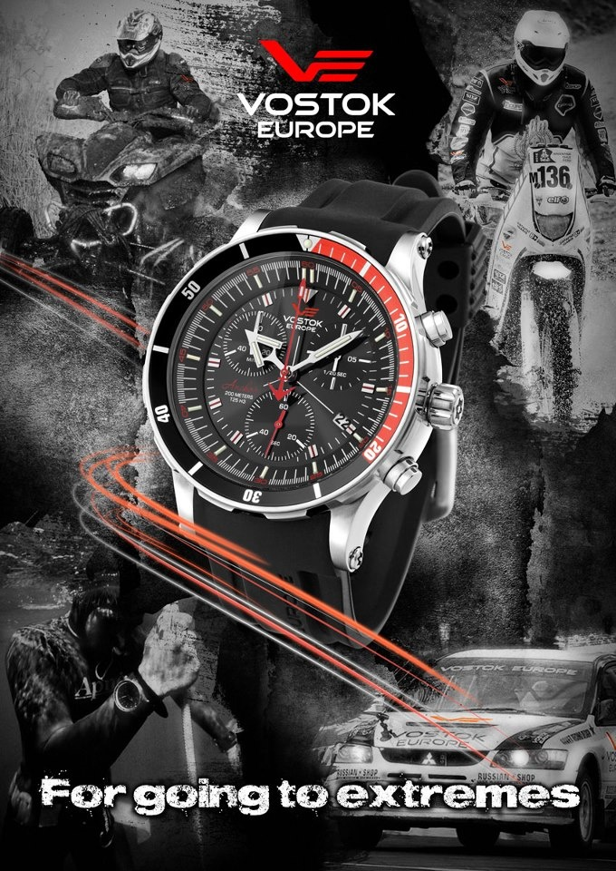 #Vostok Europe -  Available At www.chronowatchcompany.com