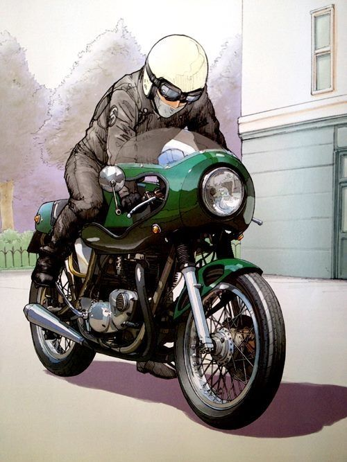 GOOD LIFE & GOOD TASTE: Art & motorcycle