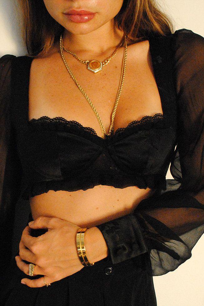 e0e2881b608 Salinas Long Sleeve Bralette