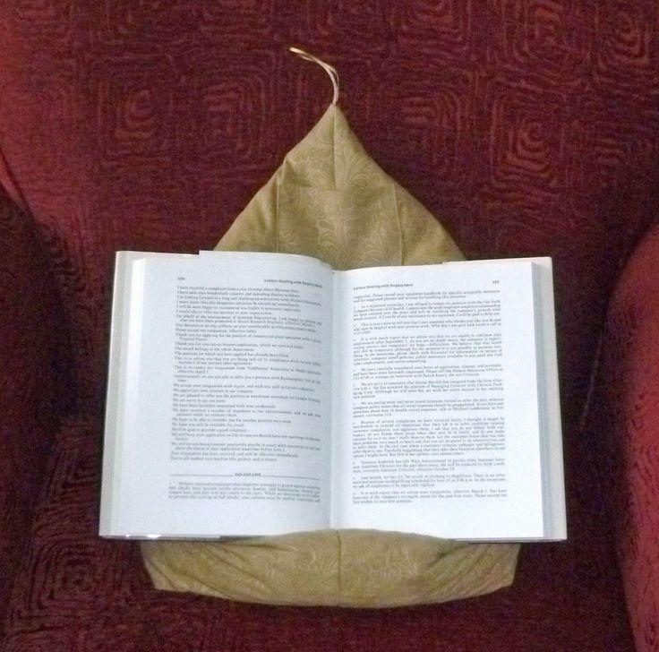 iPad cushion for easy reading