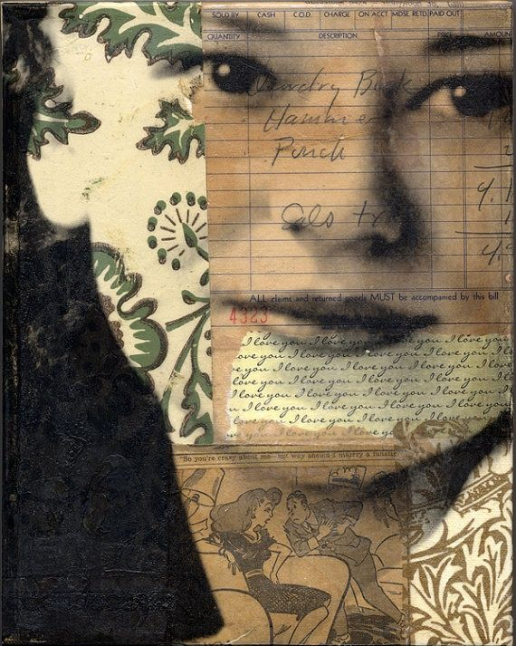 by Michelle Caplan Mixed Media Collage Artist