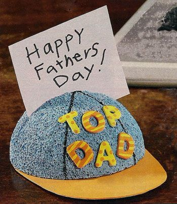 Father's day crafts for kids with sports theme.