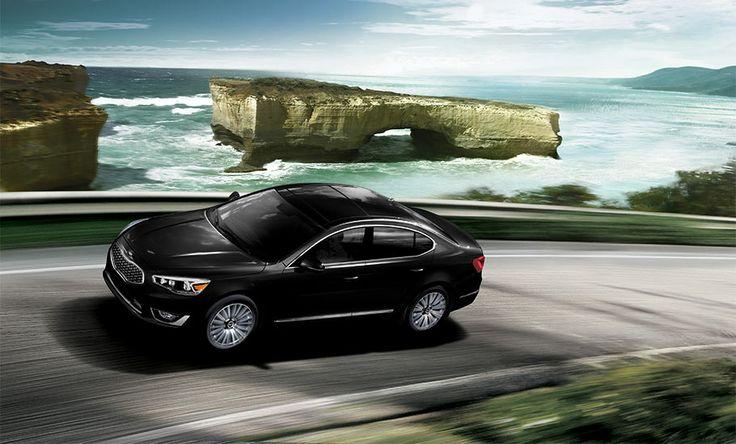 Kia Cadenza Premium Luxury Car in Aurora Black