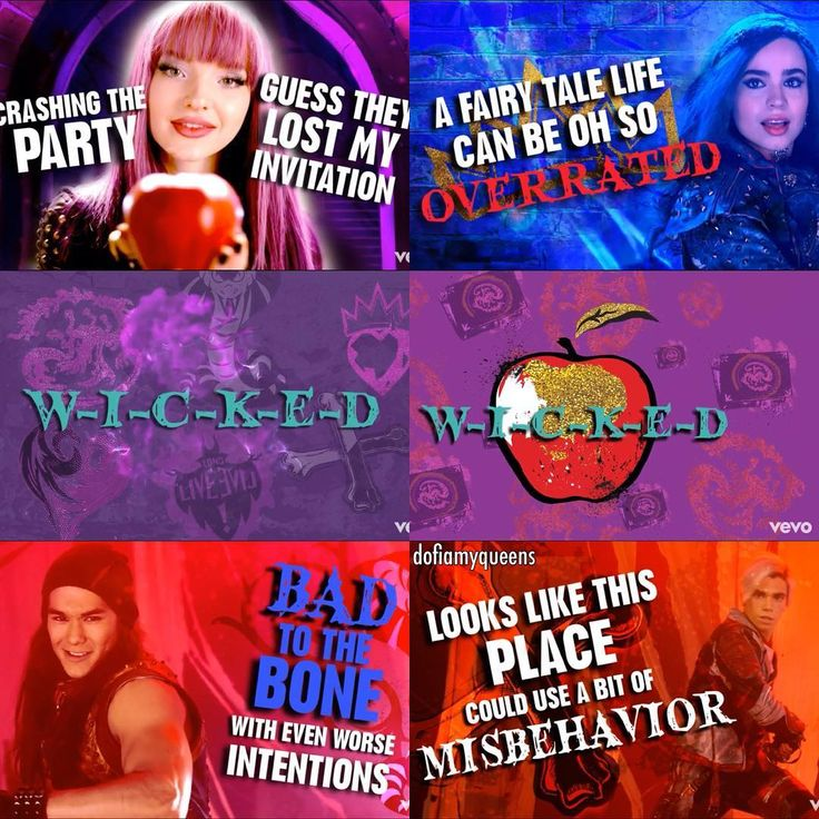 #descendants2 #descendants #waystobewicked