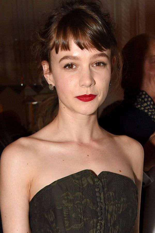 Carey Mulligan With A Classic Brown Fringe - Fringes: Get Inspired By The Best…