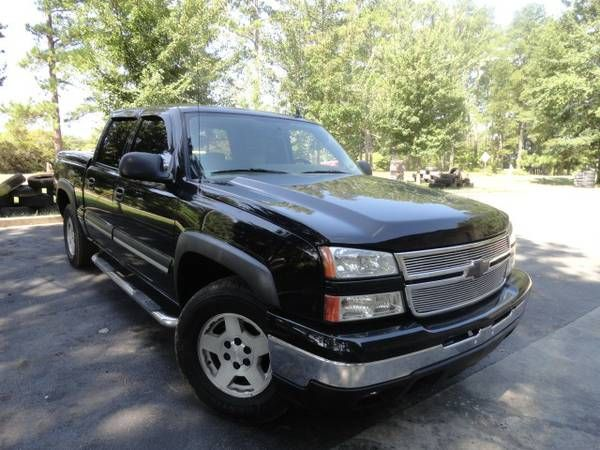 2007 Silverado Z71 CrewCab 44 Black and Mint shape. DONT MISS IT. (exit91 off i-26 CHAPIN SC) $11995