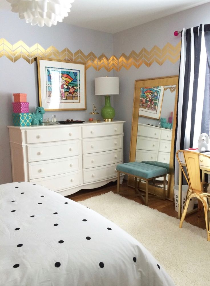 Black White And Chic All Over Teen Room Makeover With Raymour Flanigan