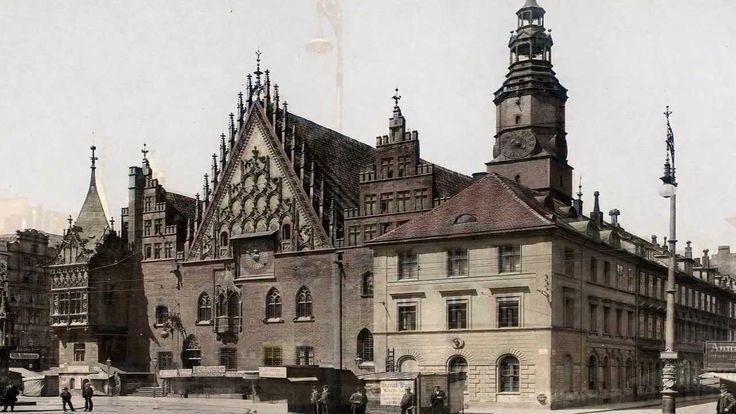 Wrocław (Breslau) dawniej i dziś