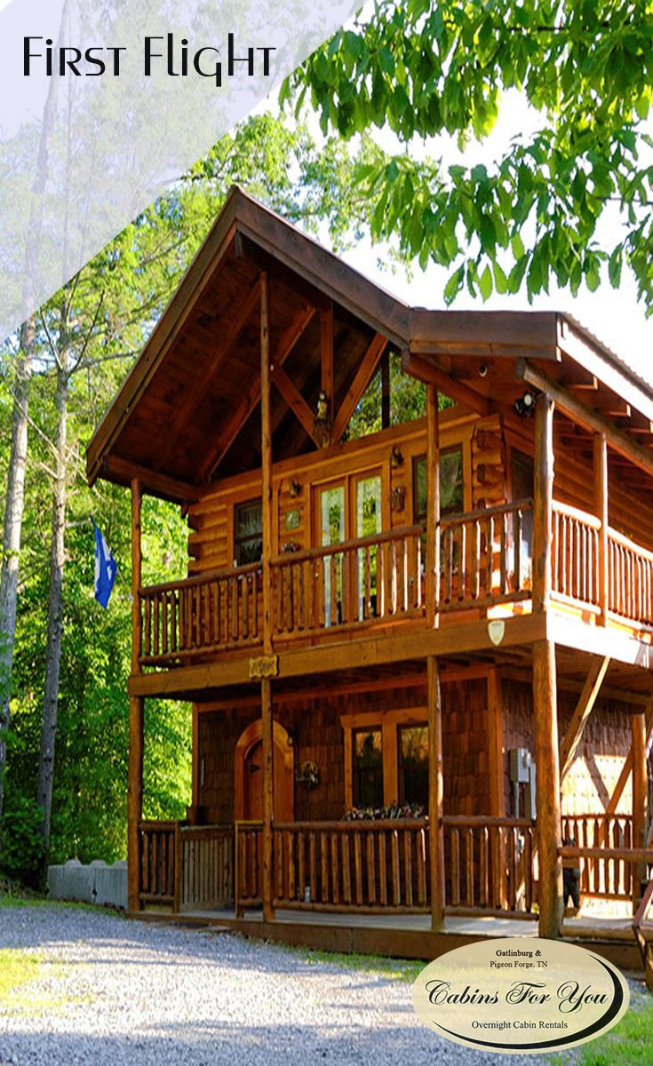 A premier honeymoon or anniversary chalet in Pigeon Forge  TN  First Flight  is a. 126 best Pigeon Forge Cabins images on Pinterest   Pigeon forge