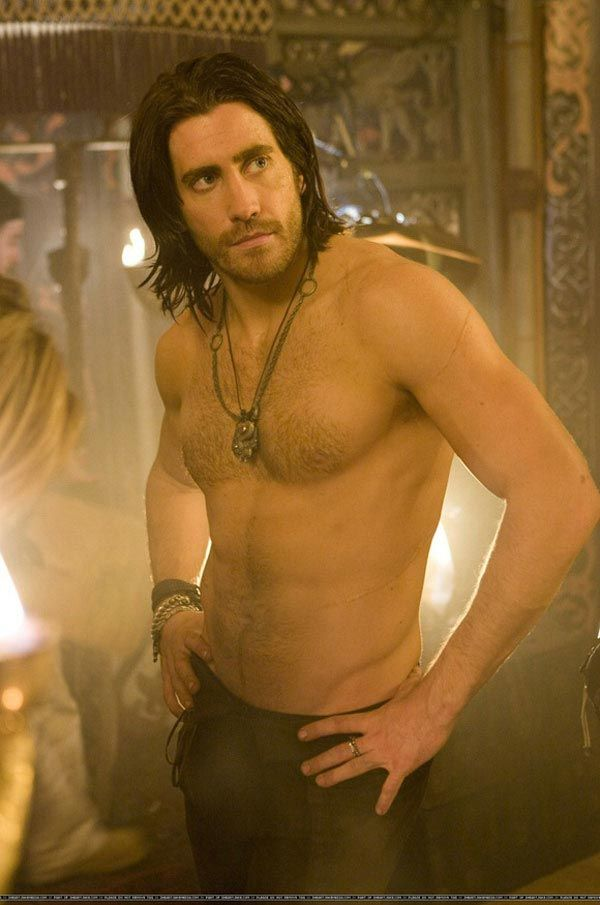 """The first two photos of a shirtless Jake Gyllenhaal in Walt Disney Pictures' """"Prince of Persia: The Sands of Time"""""""