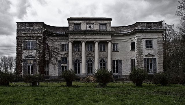 Abandoned Mansion In Belgium Places Time Forgot