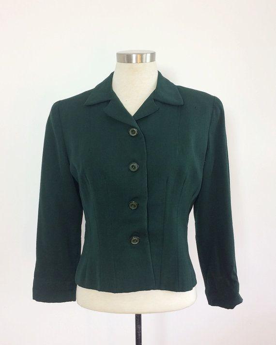 Hey, diesen tollen Etsy-Artikel fand ich bei https://www.etsy.com/de/listing/290154807/1940er-jahre-anzug-jacke-blazer-womens