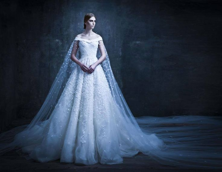 83 best Michael Cinco images on Pinterest | Wedding frocks, Short ...