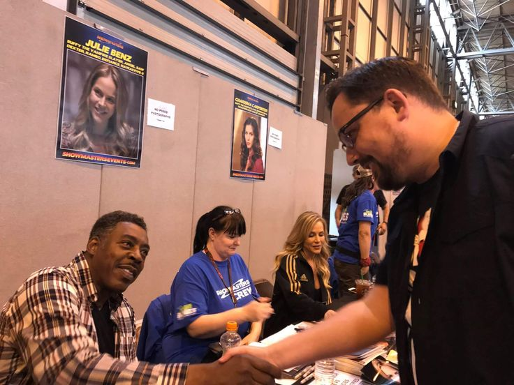 Ernie Hudson! Life complete 03.06.17 #Ghostbusters