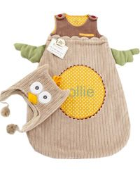 This Owl Snuggle Sack and Cap Set ($36) is a perfect combo of precious and practical. http://mindful-shopper.com/