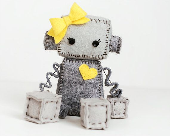 Hey, I found this really awesome Etsy listing at https://www.etsy.com/pt/listing/123985177/pick-your-color-plush-robot-girl-with