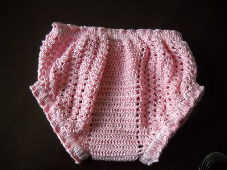 Irma, tejidos y...: PAP panties para bebe tejido en DMC ...