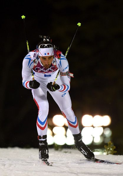 Martin Fourcade -  Men's Biathlon Medaille d'or francaise