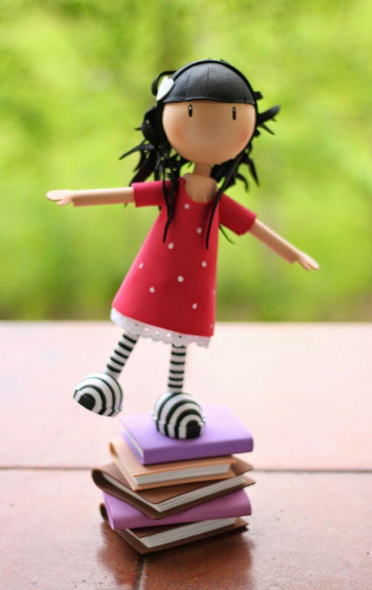 Fofucha Gorjuss http://handcraftpinterest.blogspot.com/