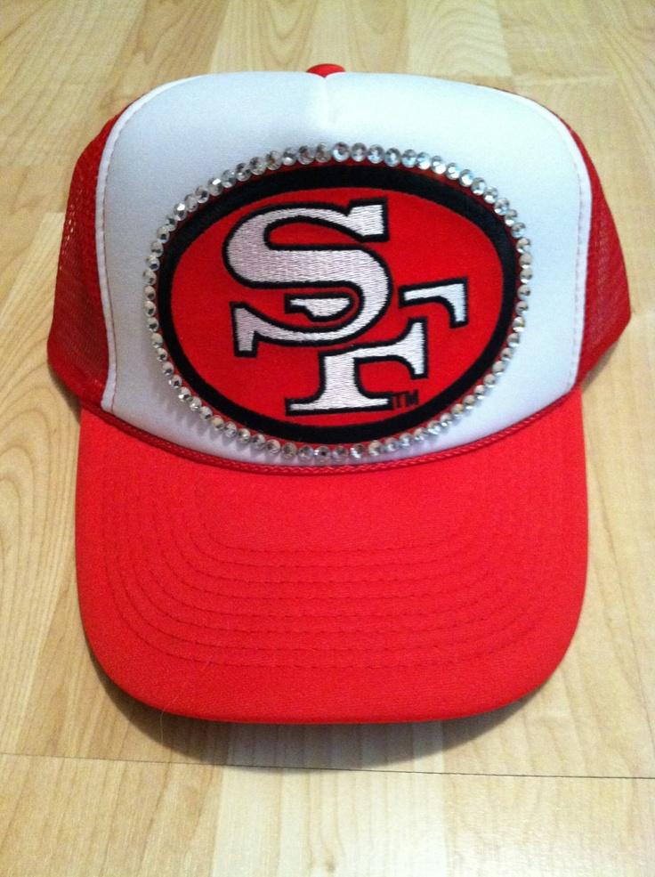 San Francisco 49ers Womens Trucker Hat By 1kraftygirl On