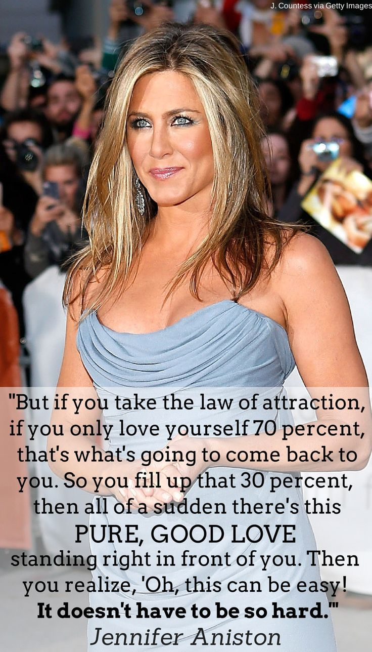 Jennifer Aniston is loving life post-40