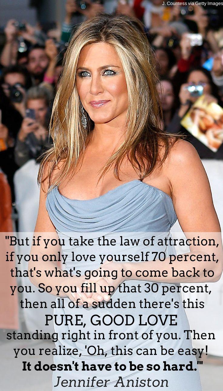 Jennifer Aniston is loving life post-40