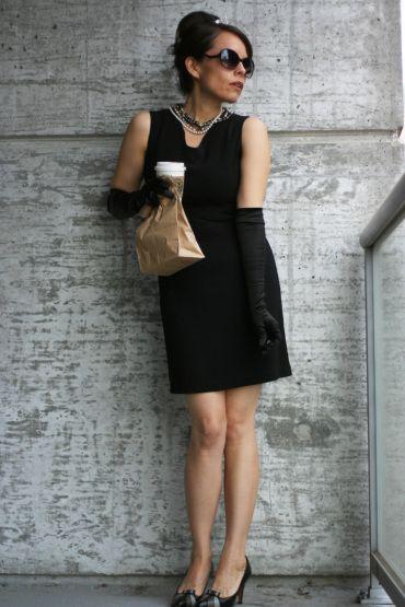 holly golightly // audrey hepburn // brunette costume inspiration