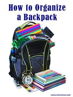 Back to School Tip: How to Organize Your Backpack   #backtoschool #Johnsonville #MorningHacks