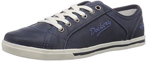 Dockers by Gerli 27CH221-620, Damen Sneakers, Blau (dunkelblau 670), 38 EU - http://on-line-kaufen.de/dockers-by-gerli/38-eu-dockers-by-gerli-27ch221-630530-damen