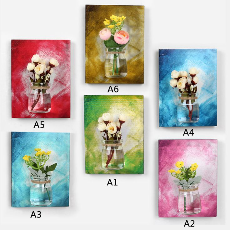 Wall Hanging Glass Flower Vase Hydroponic Plants Bottle For Home Party Wedding Decor T20
