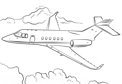 Jet Airplane Coloring Page From Airplanes Category Select 24848 Printable Crafts Of Cartoons