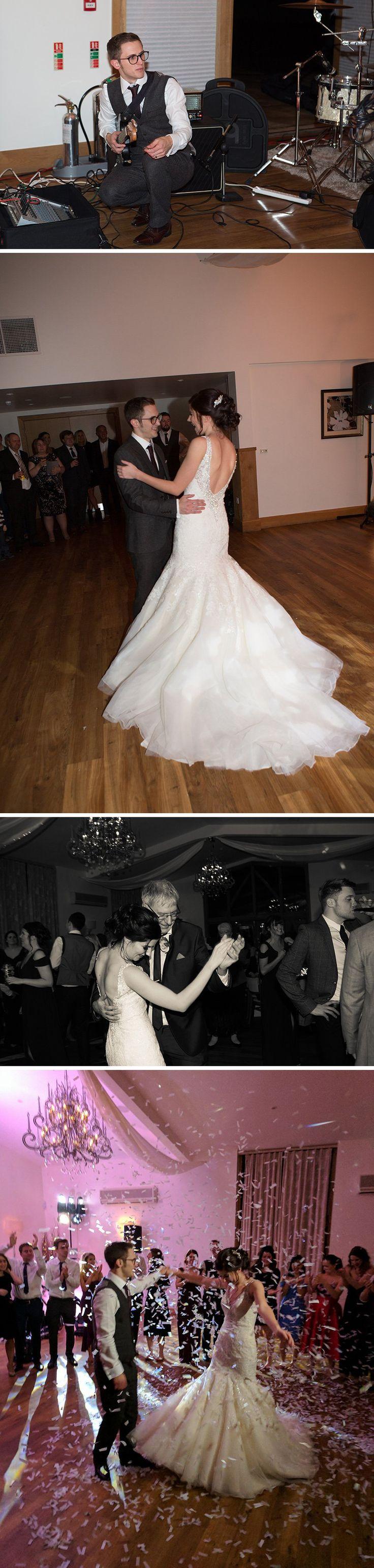 Real Wedding - Rose and Daniel's Glamorous Winter Wedding At Mythe Barn | CHWV