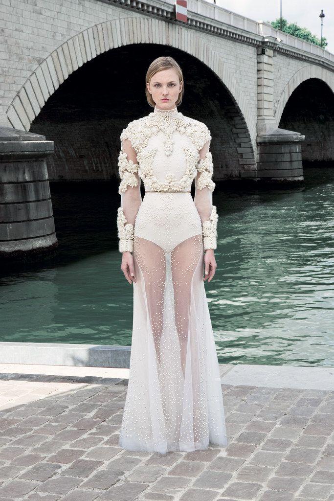 Givenchy Fall 2011 Couture Fashion Show - Caroline Trentini (Elite)