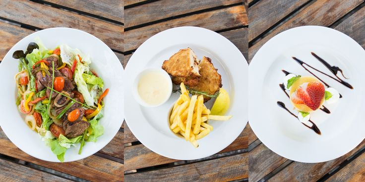 Beef salad as a starter; Chicken Kiev as main course; Cheese cake as dessert. #SefapaneMagic