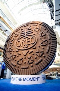 OREO celebrates its 100th Birthday  in Toronto in a Big way!