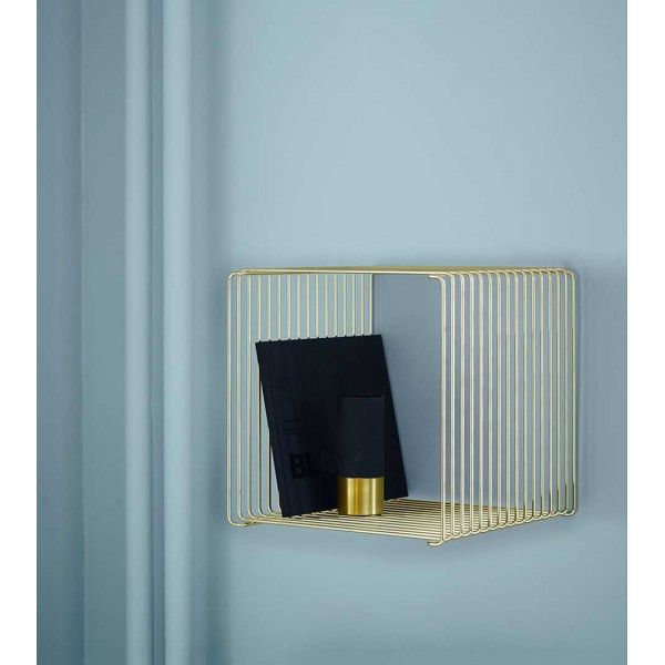 Montana Panton Wire Trådreol I Guld   Limited Edition