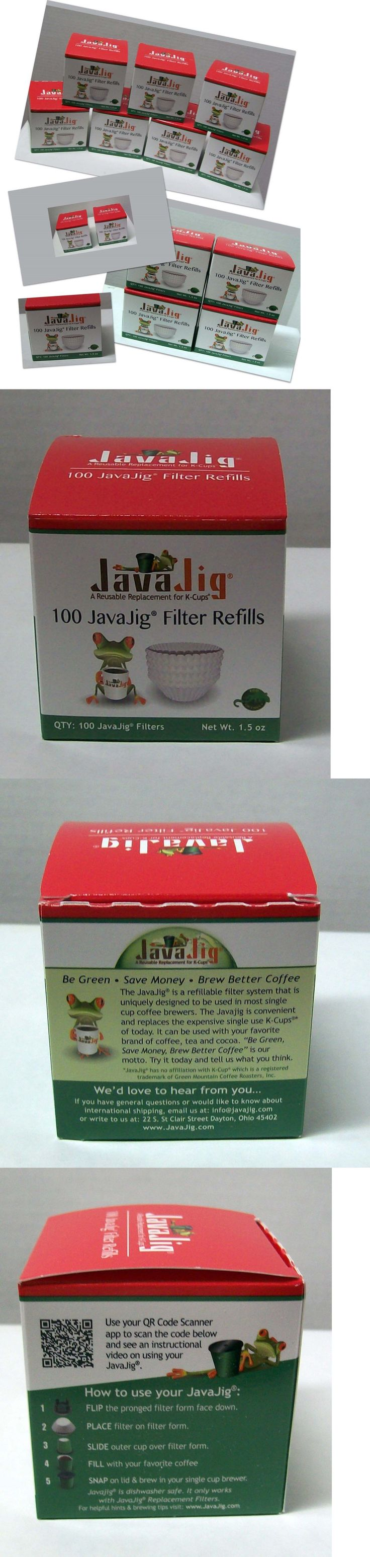 Coffee Makers Specialty 177752: Javajig Filter Refill Java Jig Melitta K-Cup Holder (2Bxs 4Bxs 7Bxs-100 Ea) -> BUY IT NOW ONLY: $42.75 on eBay!