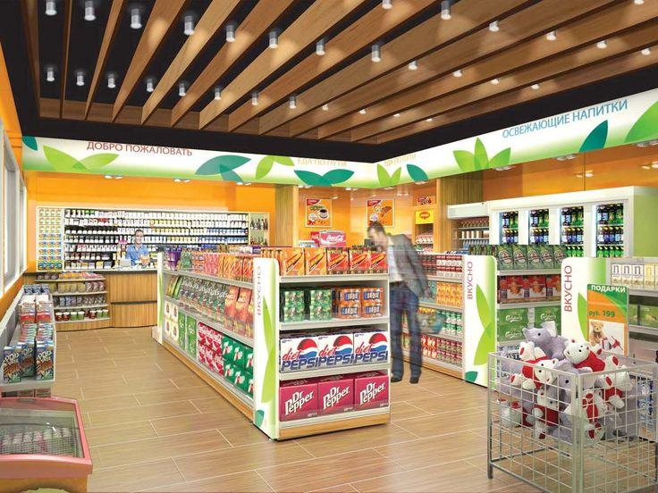Alliance c-store interior designed by Minale Tattersfield