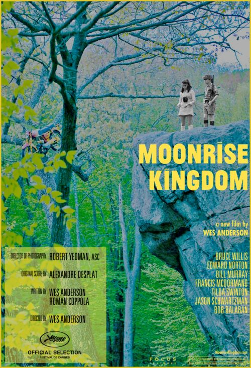 MOONRISE KINGDOM... This poster would be amazing in our den...