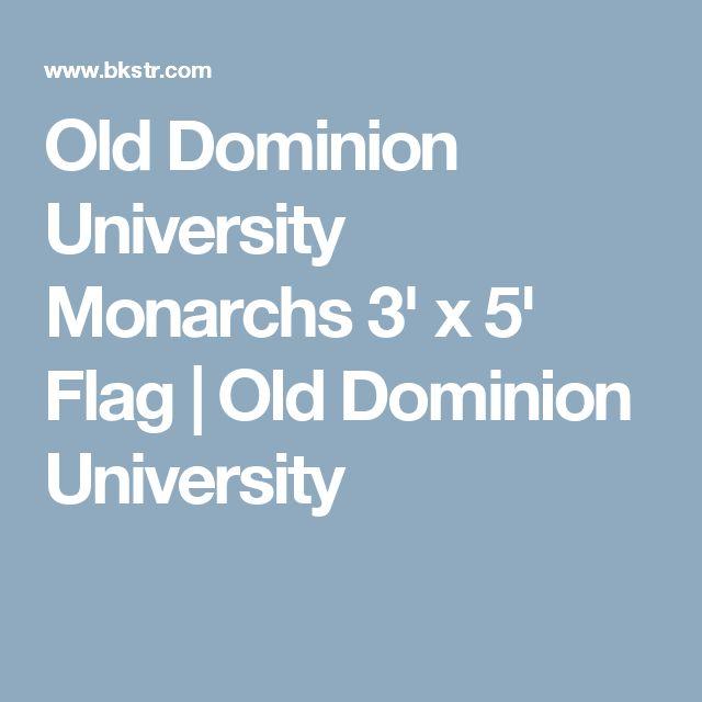 Old Dominion University Monarchs 3' x 5' Flag | Old Dominion University