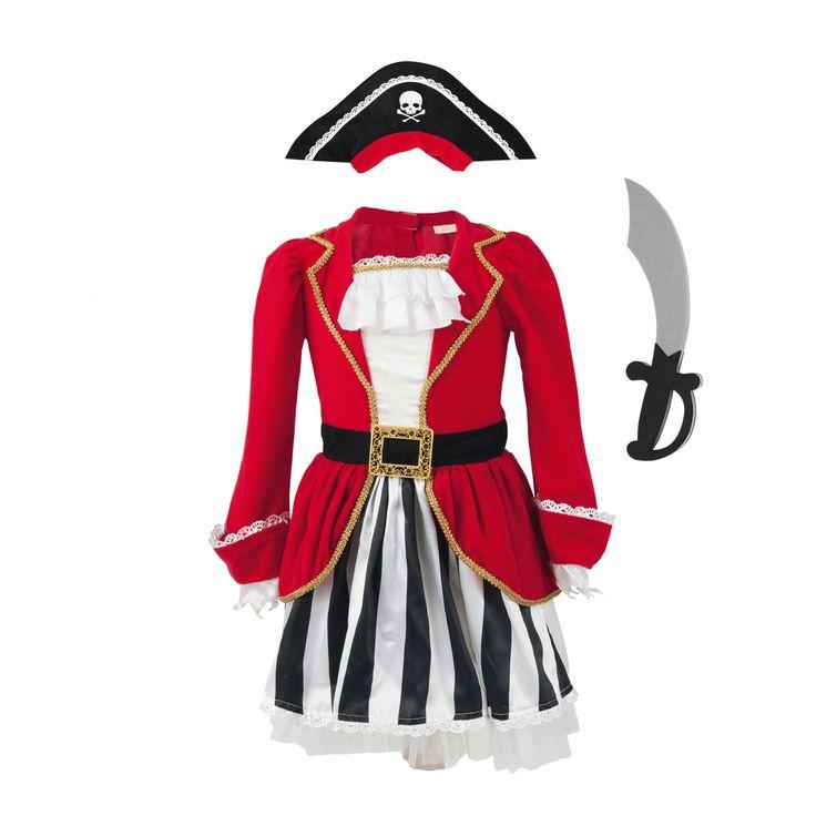 Épinglé par Ana Duarte sur Carnaval Deguisement pirate fille