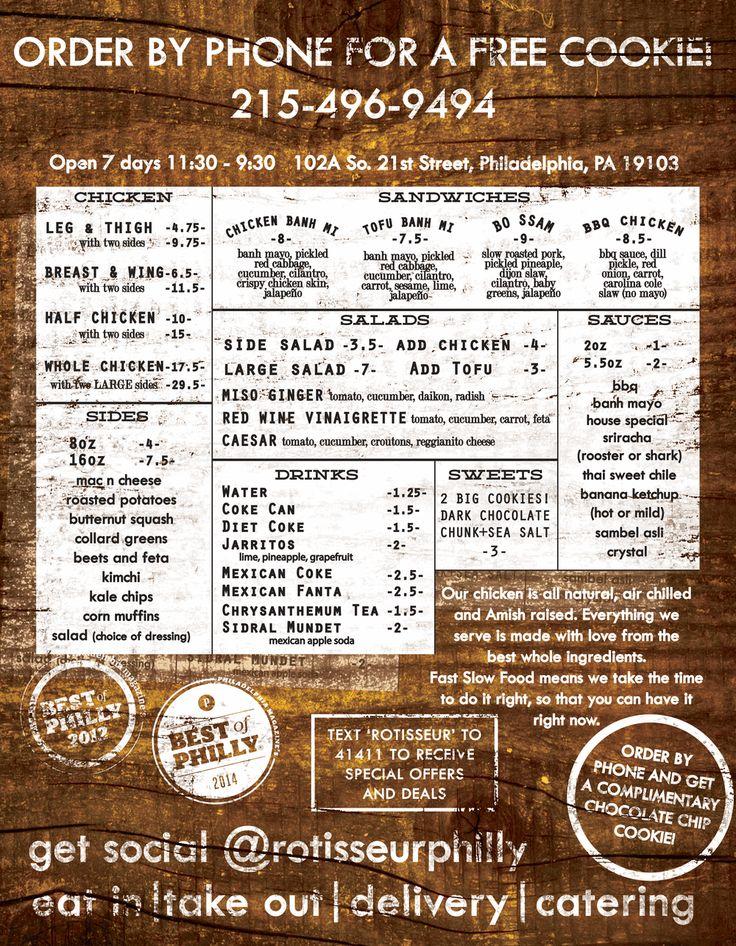 Rotisseur – get the Bo Ssam sandwich
