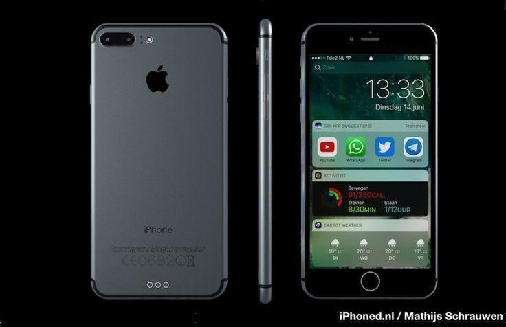 Latest iPhone 7 Concept Imagines New Handset Running iOS 10 - https://www.aivanet.com/2016/06/