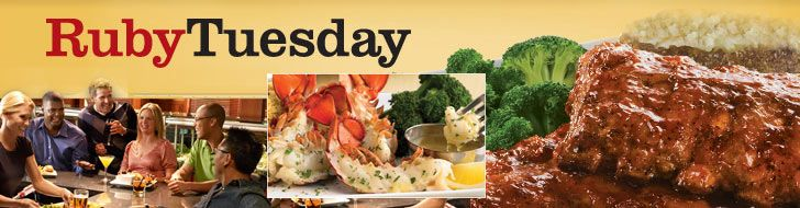 View Ruby Tuesday gluten-free menu, coupons and locations