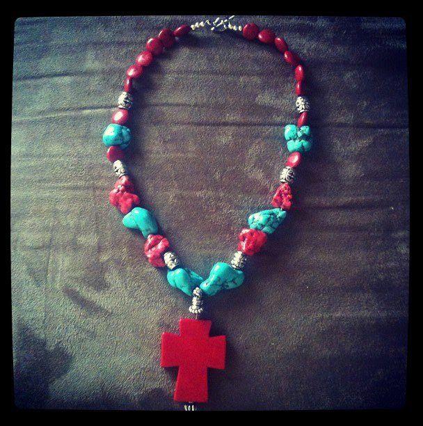 Western jewelry necklace